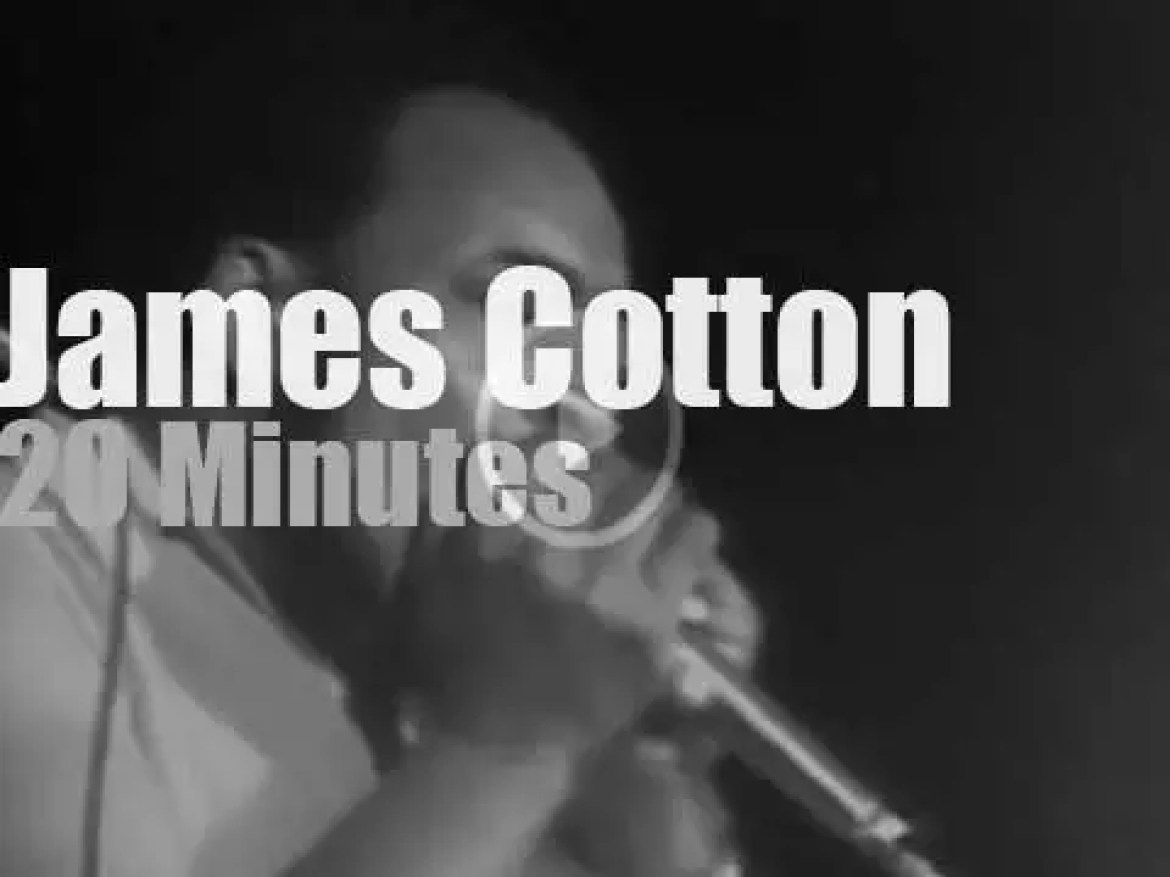 The James Cotton Blues Band plays  Winterland (1973)