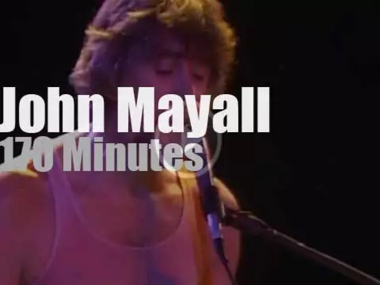 Etta James, Albert King & Junior Wells join John Mayall (1982 )