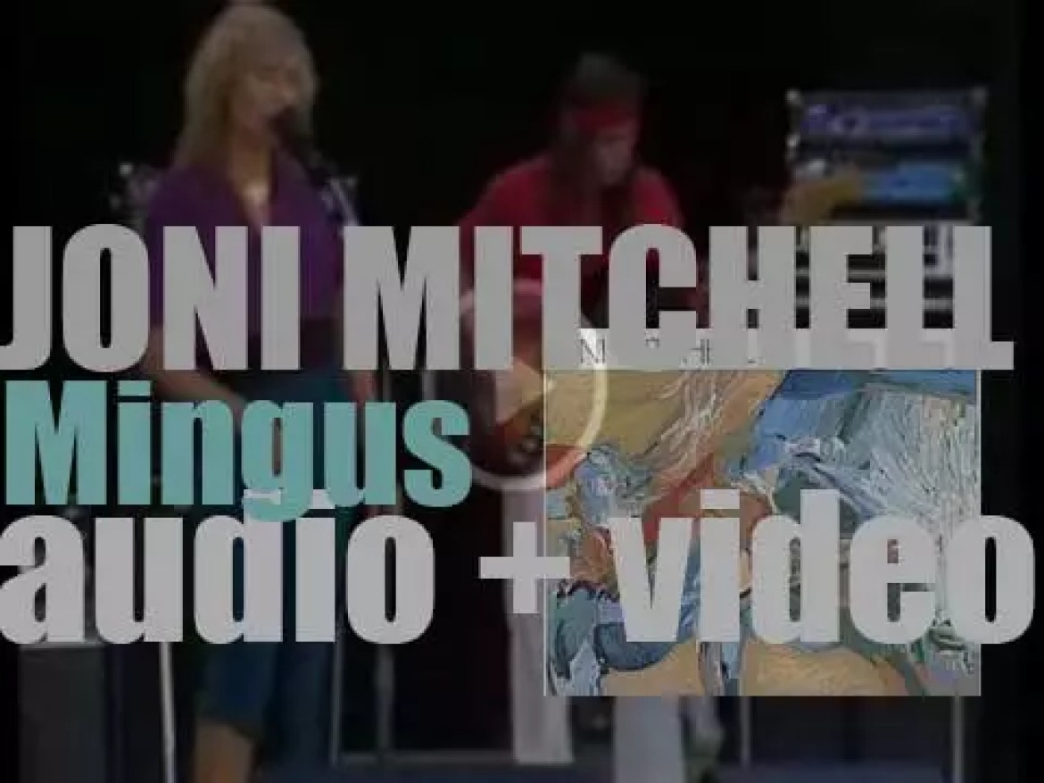 Joni Mitchell releases 'Mingus,' a collaboration album with Charles Mingus (1979)