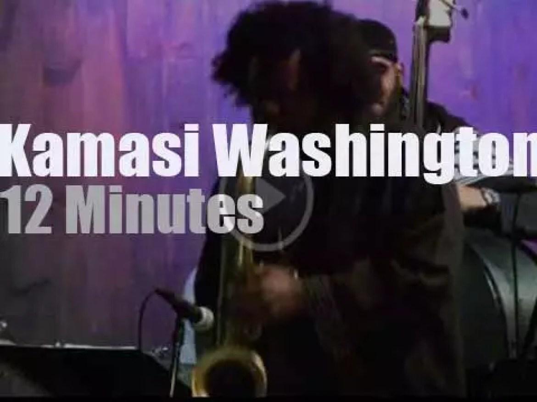 Kamasi Washington & The Next Step play in LA (2014)