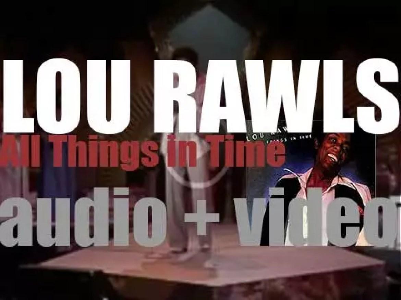 Philadelphia International release Lou Rawls' 'All Things in Time' (1976)