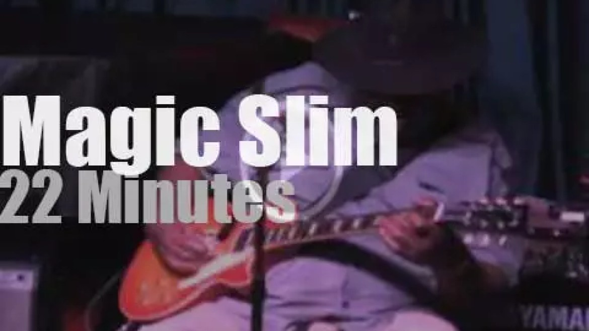Magic Slim & The Teardrops are in NYC (2012)