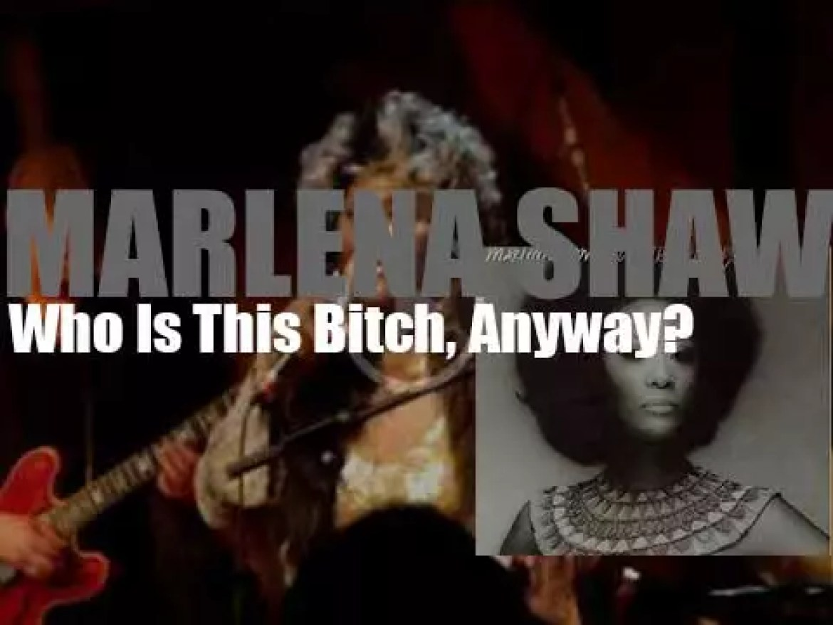 Marlena Shaw records the album 'Who Is This Bitch, Anyway?' for Blue Note (1974)