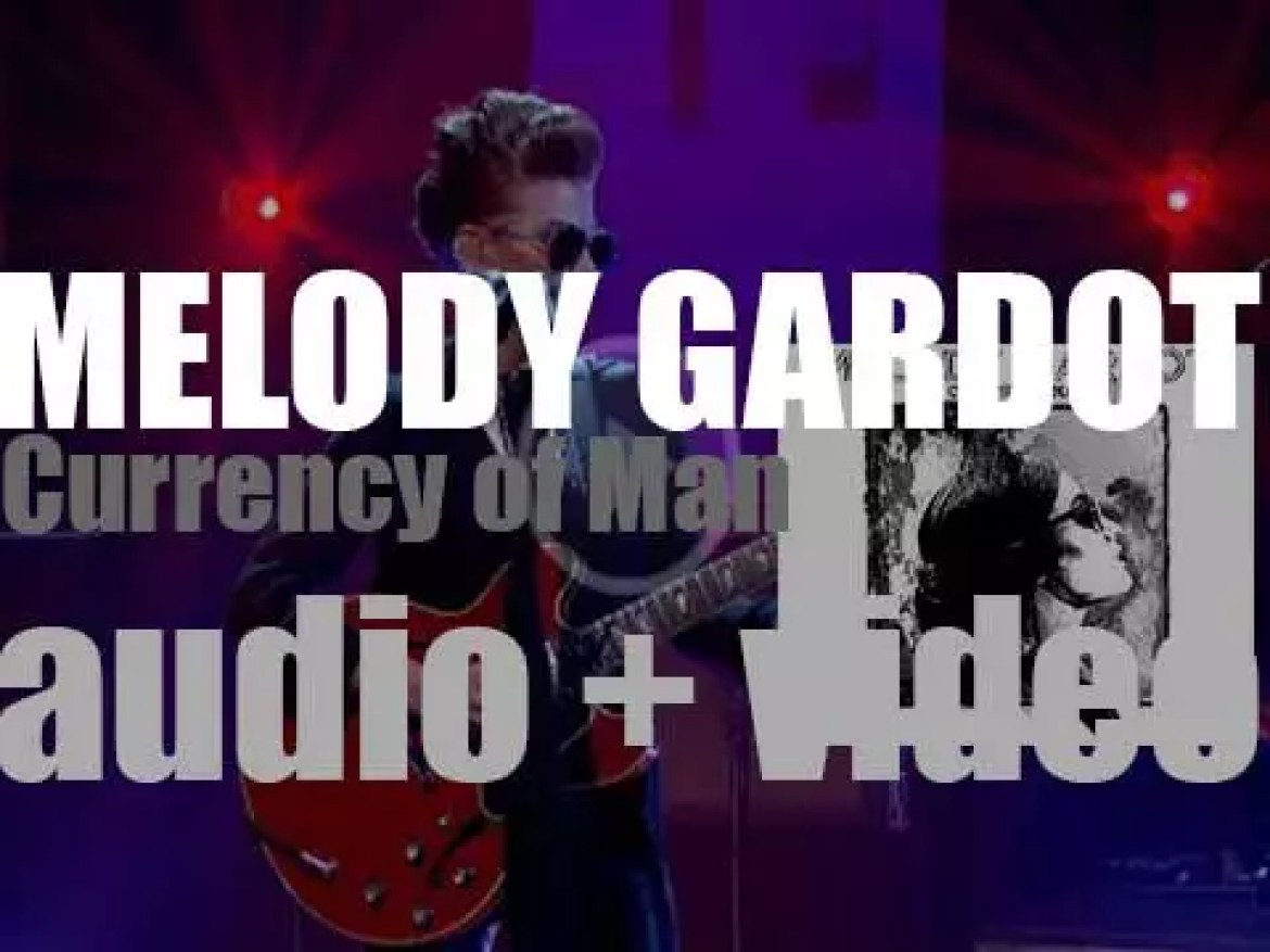 Melody Gardot releases her fourth album : 'Currency of Man' (2015)