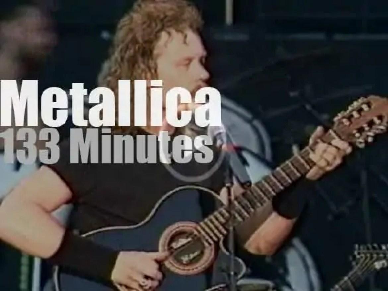 Metallica roams Switzerland (1993)