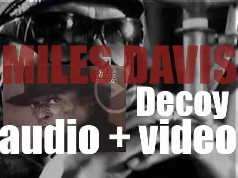 Miles Davis records 'Decoy' with Robert Irving III and Branford Marsalis (1983)