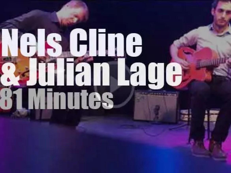 Nels Cline & Julian Lage duet in Ottawa (2014)
