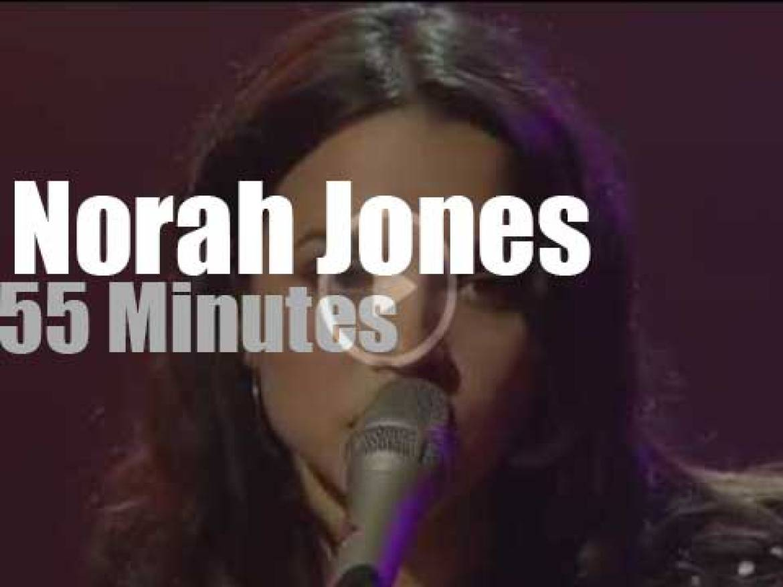 "Norah Jones tapes ""Austin City Limits""  (2007)"