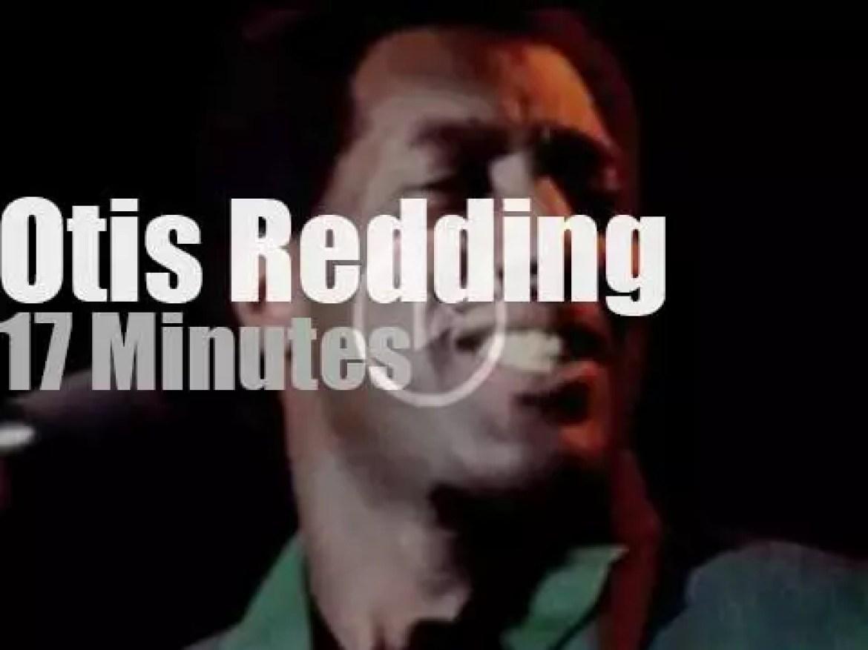 Otis Redding  closes day two at Monterey Pop Festival (1967)