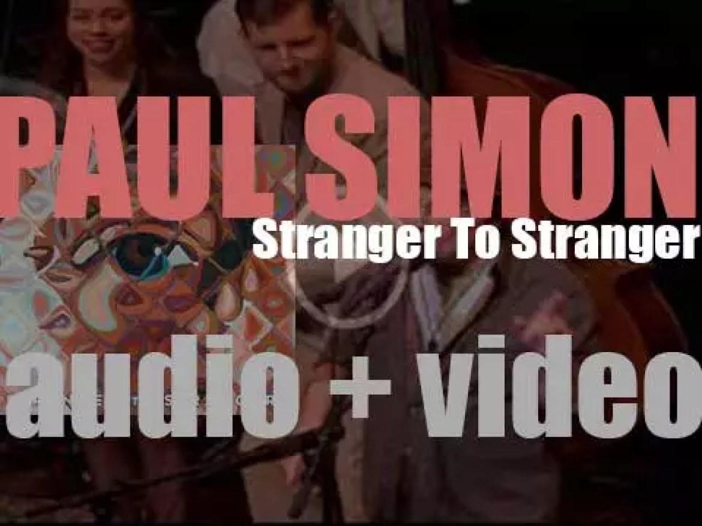 Paul Simon releases his thirteenth solo album : 'Stranger to Stranger' (2016)