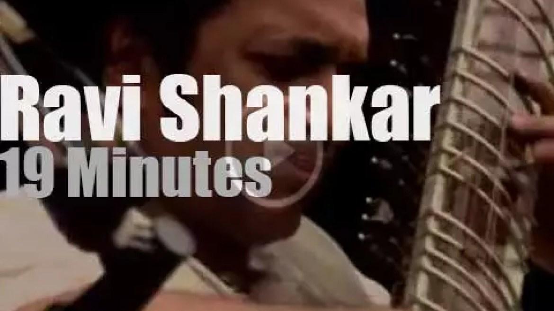 Ravi Shankar spiritualizes day three at Monterey Pop Festival (1967)