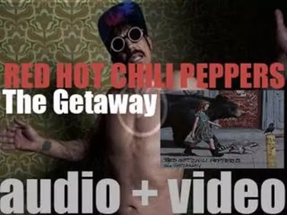 Red Hot Chili Peppers release their eleventh album : 'The Getaway' (2016)