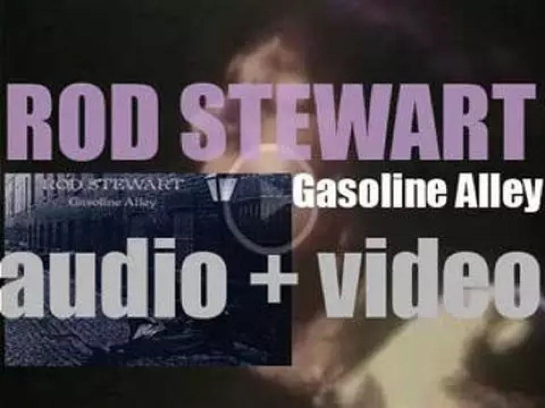 Vertigo release Rod Stewart's second solo album : 'Gasoline Alley' (1970)