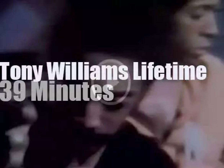 Tony Williams Lifetime rocks Montreux Jazz Fest (1971)