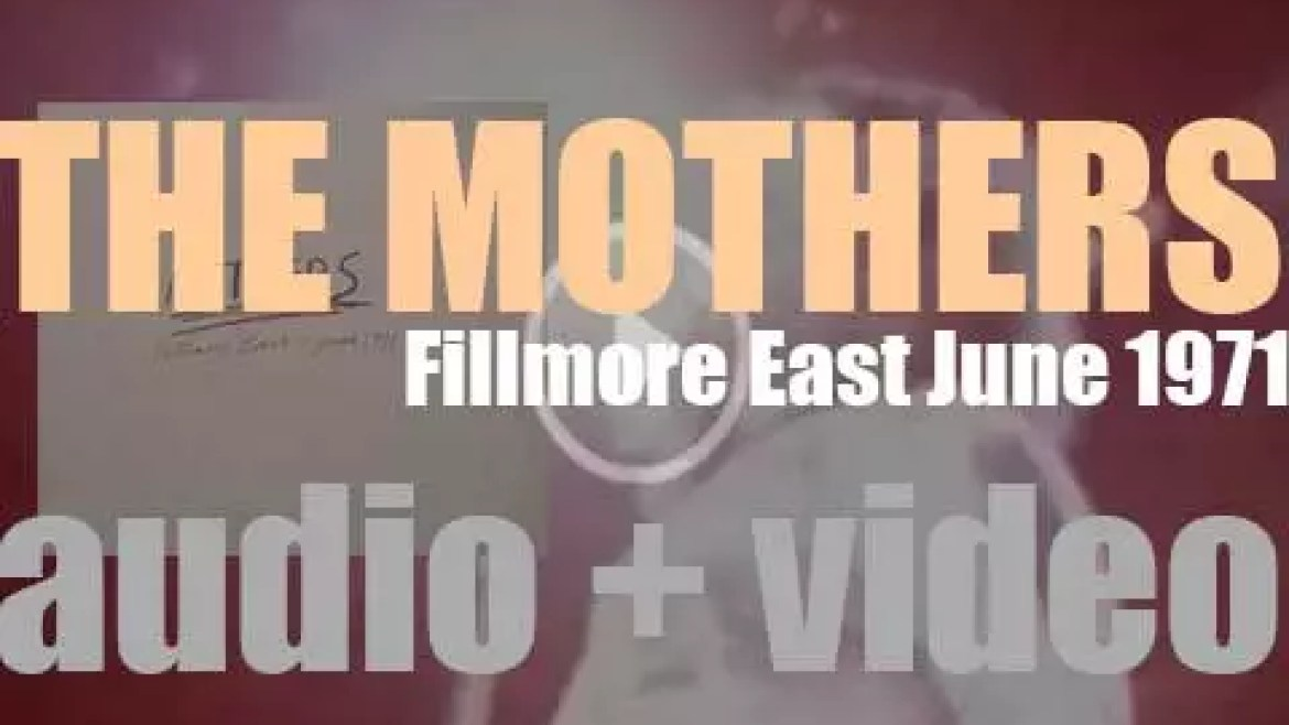 The Mothers record 'Fillmore East – June 1971,' live in New York City (1971)