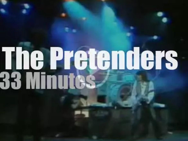 The Pretenders are in Dortmund (1984)