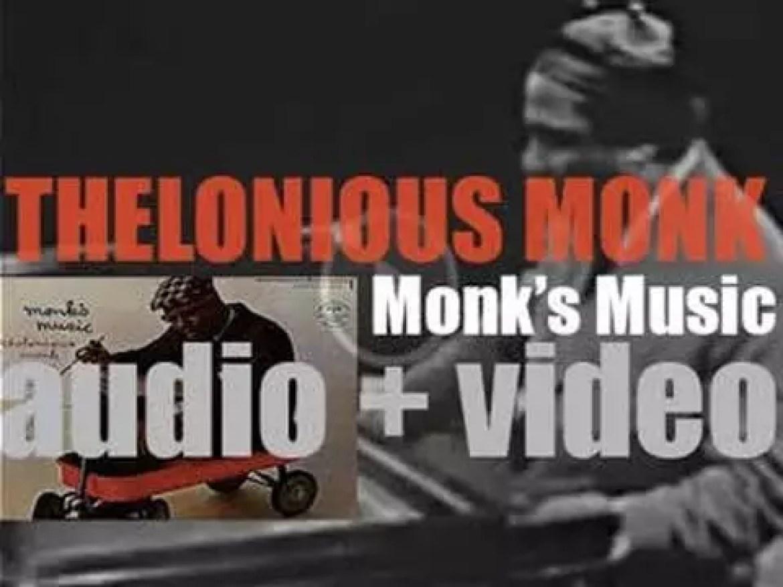 Thelonious Monk records 'Monk's Music' with John Coltrane, Coleman Hawkins, Art Blakey et al (1957)