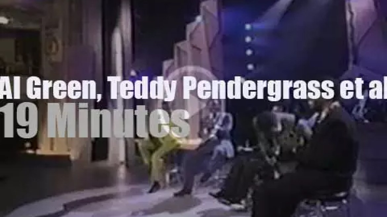 Al Green, Teddy Pendergrass et al celebrate soul music at the Apollo (1993)