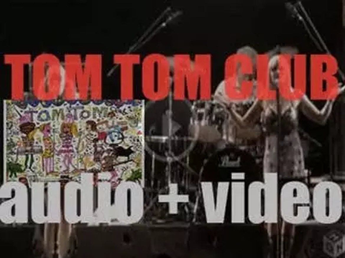 Sire publish 'Tom Tom Club,' their first self-titled album featuring 'Wordy Rappinghood' (1981)