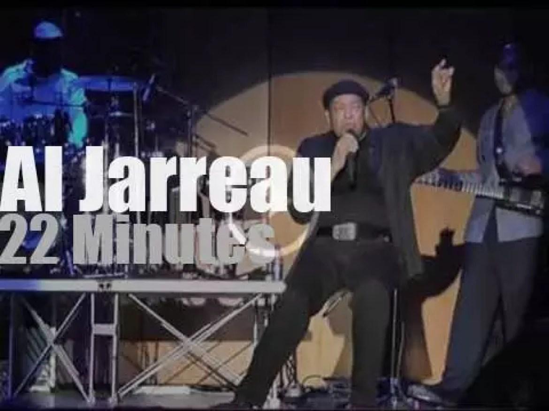 Al Jarreau  sings in Naples, Italy (2012)