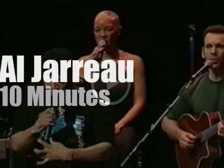 Al Jarreau sings at Montreal Jazz Festival (2000)
