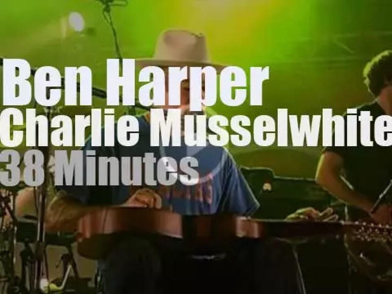 Ben Harper meets Charlie Musselwhite in Vienne (2013)