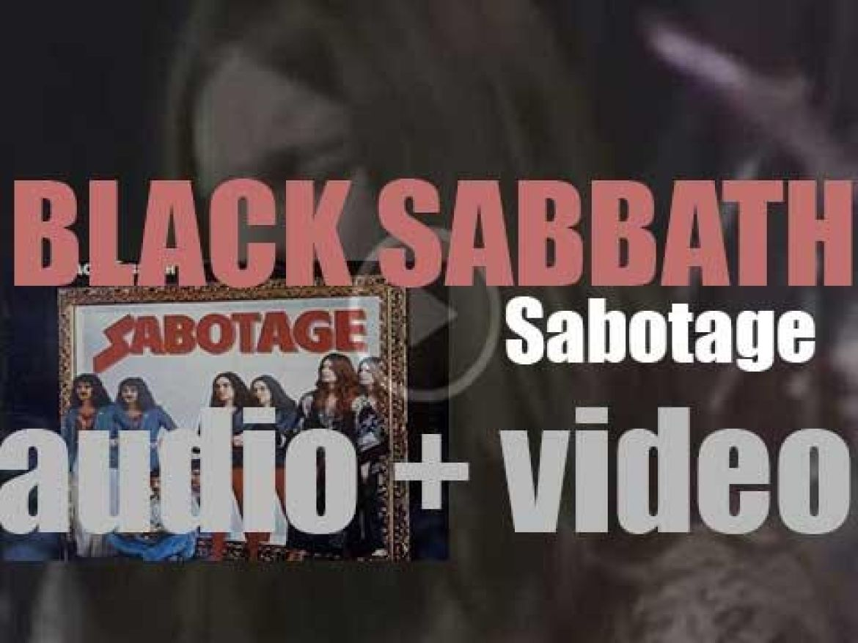 Vertigo publish Black Sabbath's sixth album : 'Sabotage' (1975)