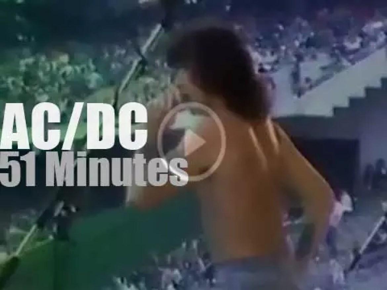 "Bon Scott & AC/DC are ""Monsters Of Rock"" (1979)"