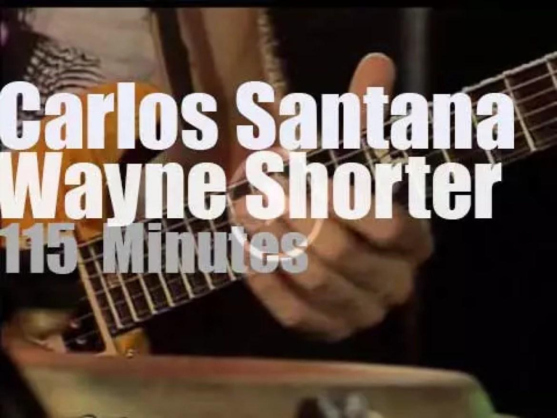 Carlos Santana & Wayne Shorter meet in Montreux (1988)