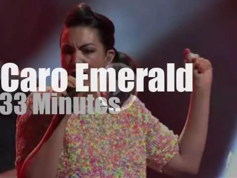 Caro Emerald sings at Montreux Jazz (2015)