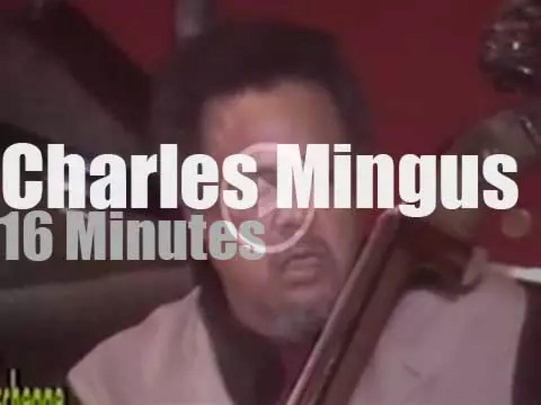 Charles Mingus Quintet plays in Milan (1976 )