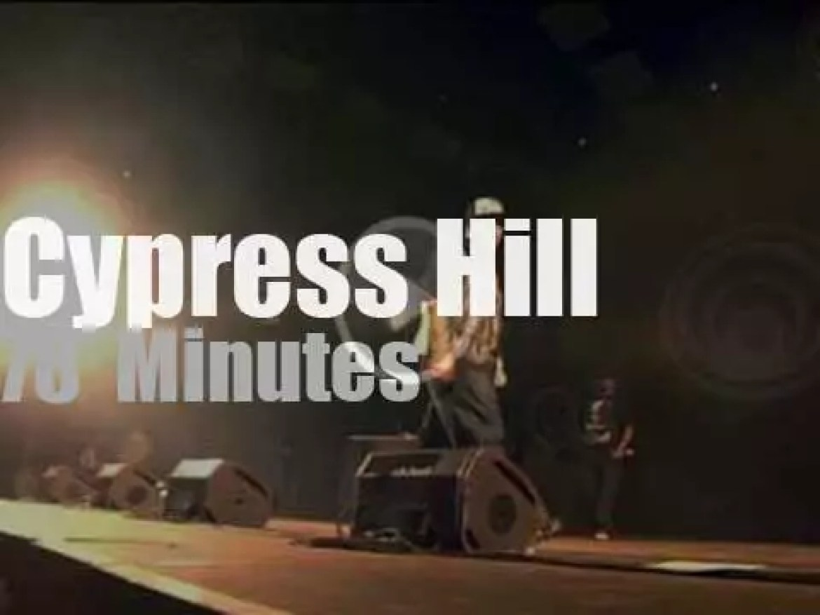 Cypress Hill attend a French festival (2011)