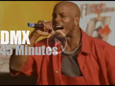 DMX raps at Woodstock '99 day 2 (1999) - Radio Video Music
