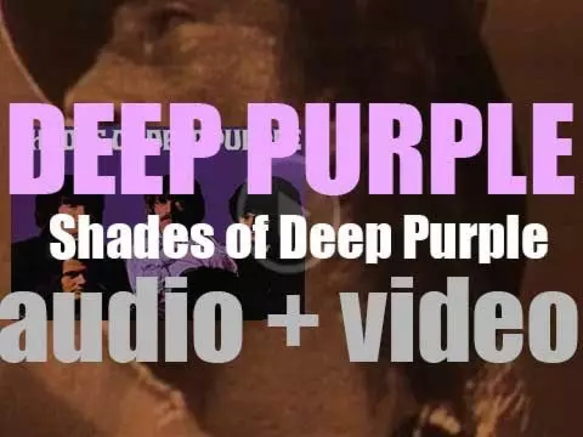 Deep Purple release 'Shades of Deep Purple,' their debut album featuring 'Hush' (1968)