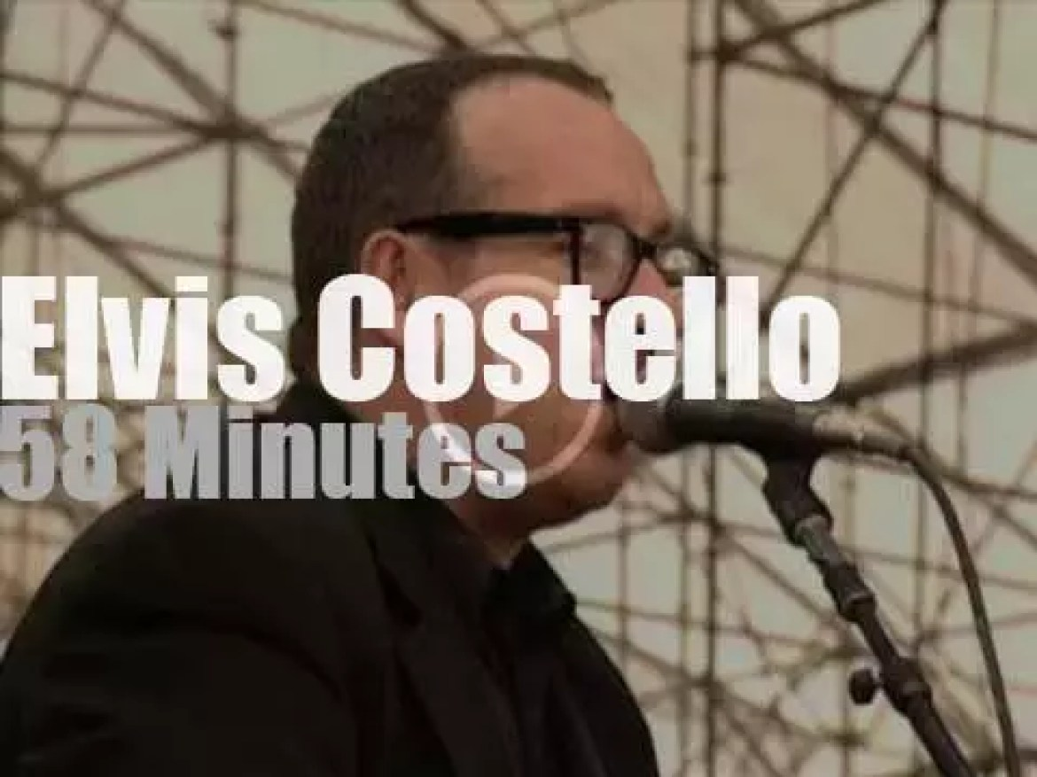 Elvis Costello  is at Woodstock '99 day 4 (1999)