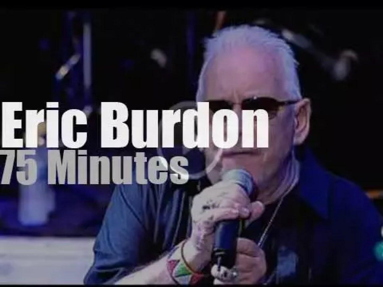 Eric Burdon celebrates The Animals' 50th anniversary (2011)