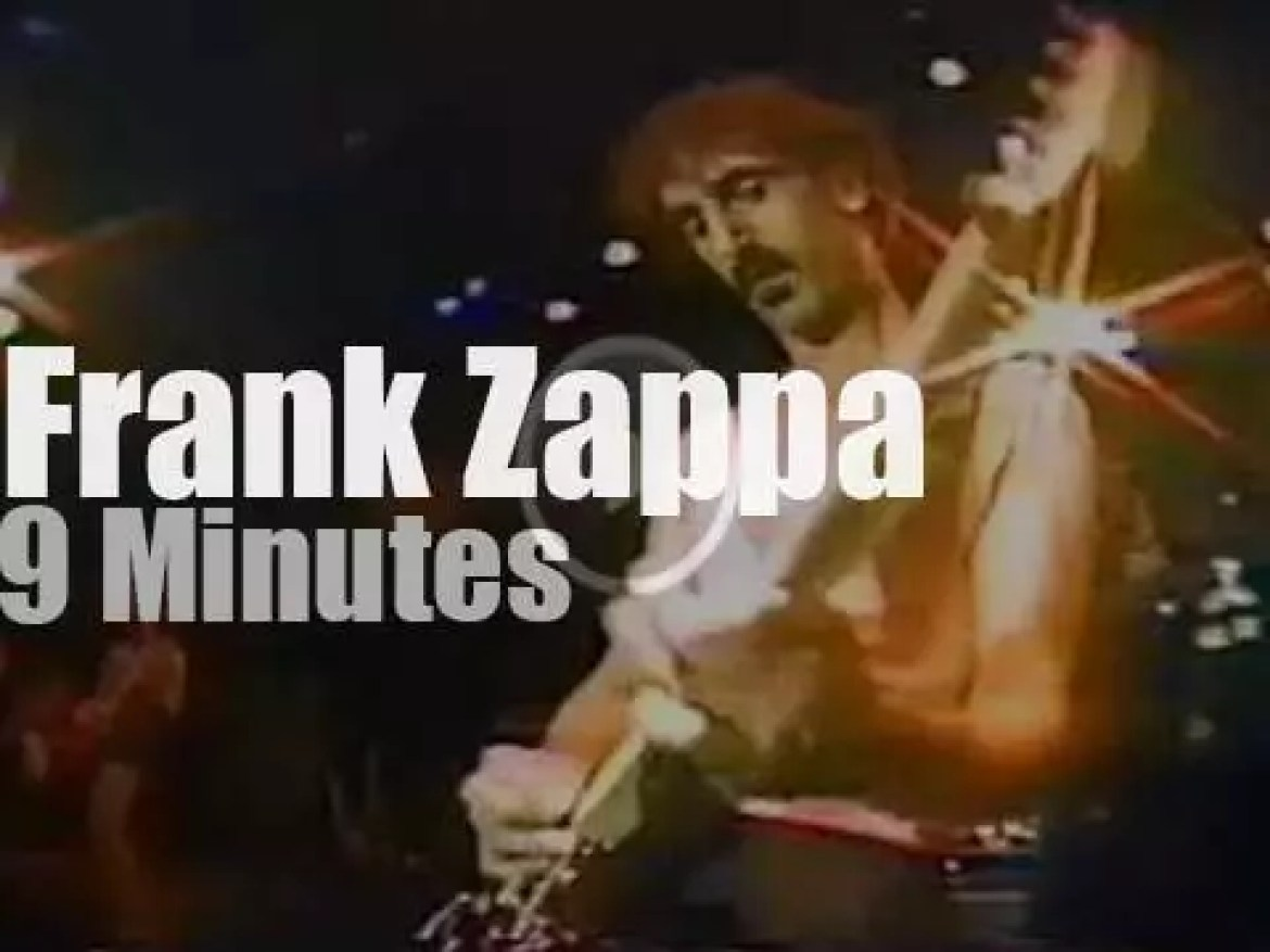 Steve Vai is in Frank Zappa's band (1982)