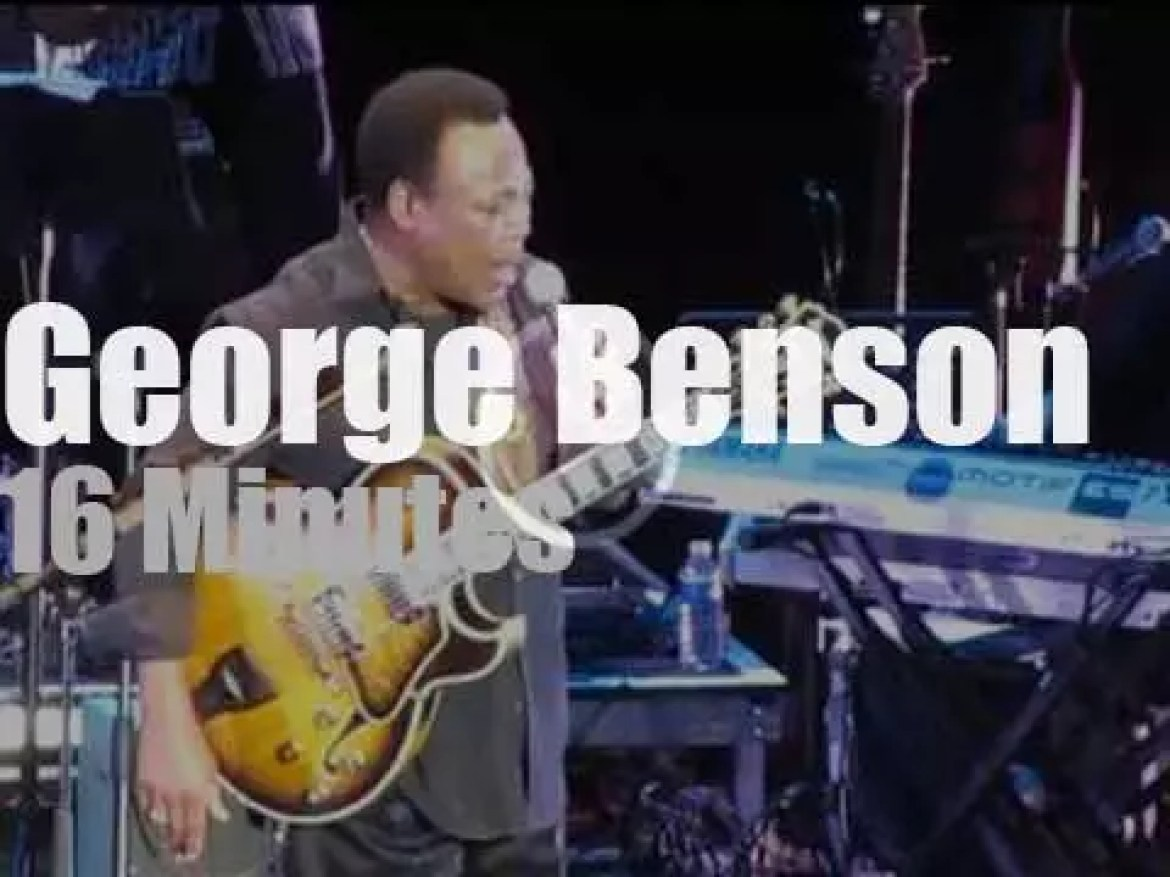 George Benson performs in South Of France (2012)