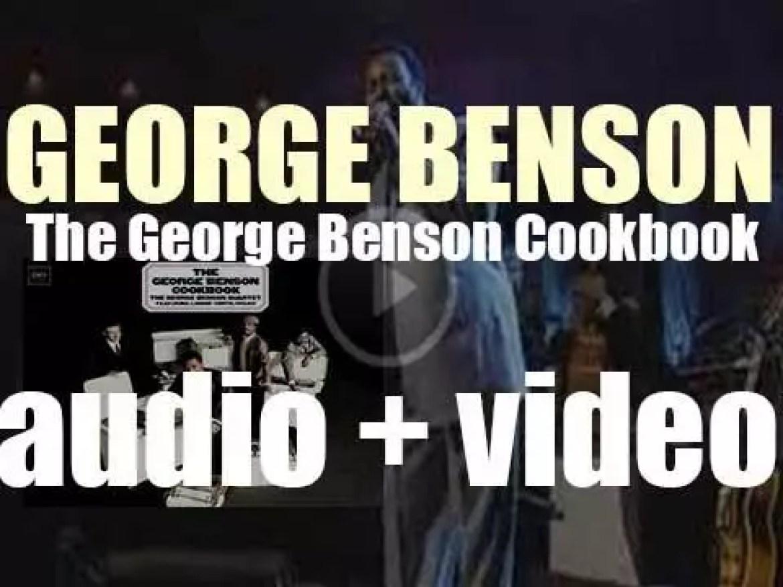 George Benson  records his  third album : 'The George Benson Cookbook' (1966)