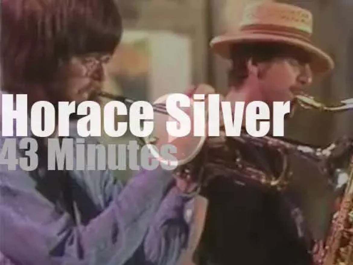 Horace Silver Quintet performs at Umbria Jazz (1976)