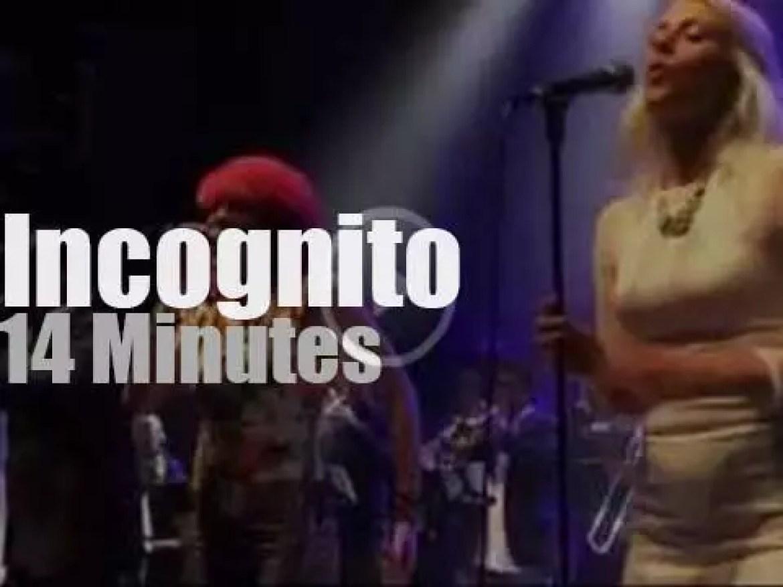 Incognito celebrate their 35th Anniversary (2014)