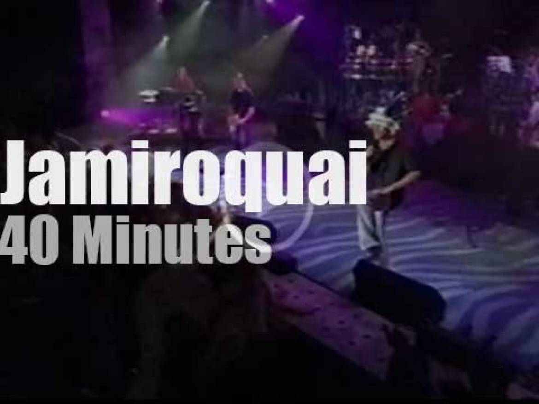 Jamiroquai funkifies Montreux (2002)
