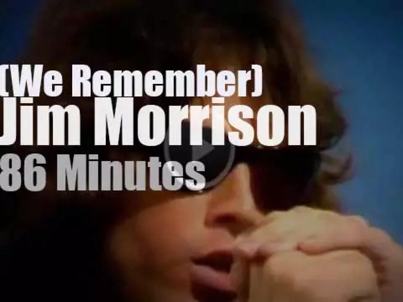 We Remember Jim Morrison