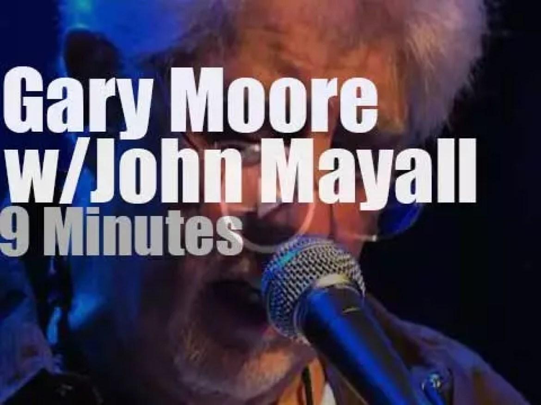 Gary Moore sits in w/ John Mayall & The Bluesbreakers (2008)