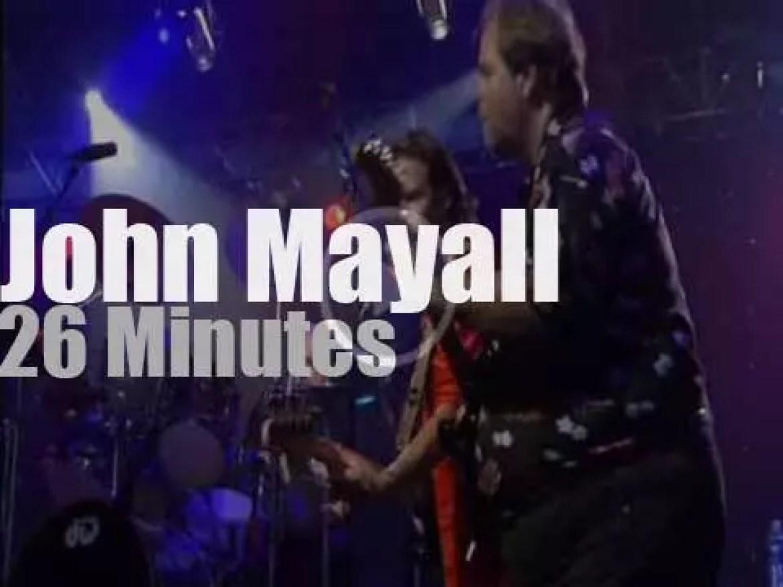 Eric, Mick et al celebrate John Mayall's 70th birthday (2003)
