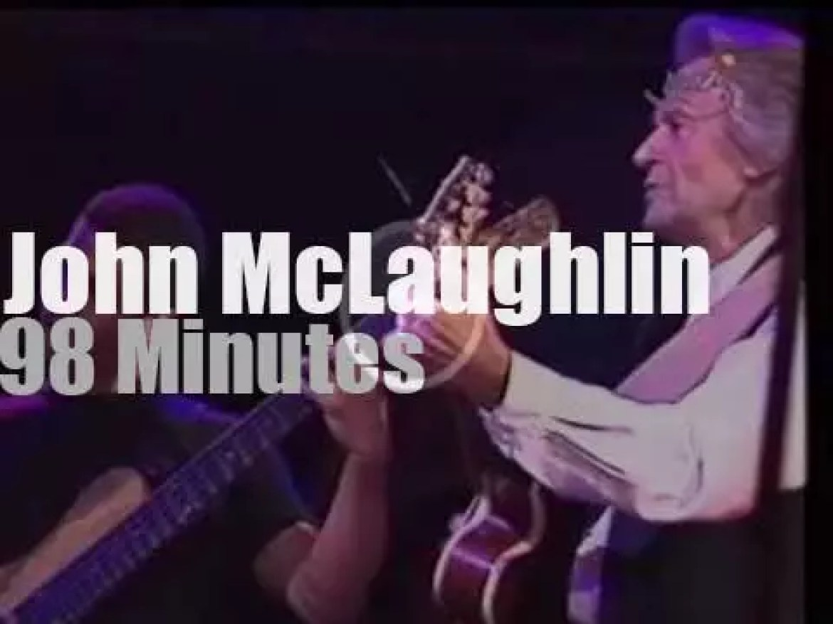 John McLaughlin takes The Heart Of Things to Vienne (1998)