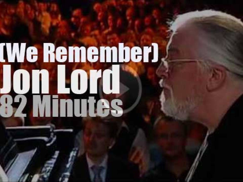 We Remember Jon Lord