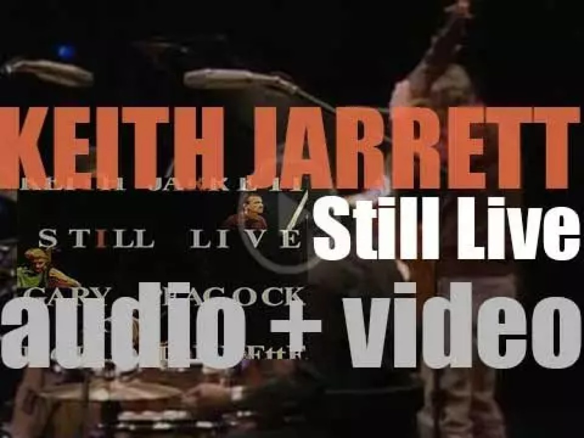 Keith Jarrett records 'Still Live' in Munich, with Gary Peacock and Jack DeJohnette (1986)