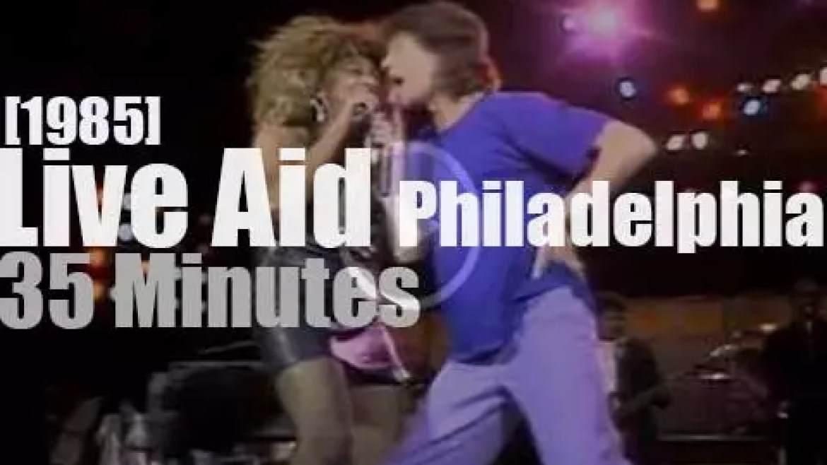 On TV today, watch Live Aid from Philadelphia (1985)