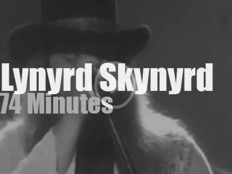 Lynyrd Skynyrd are in New-Jersey (1977)